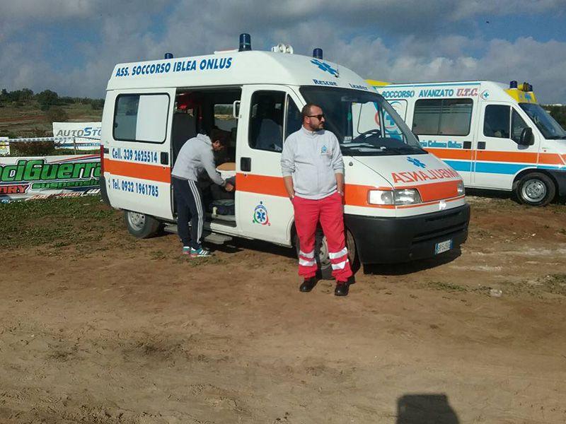 Ambulanza Manifestazioni Ragusa